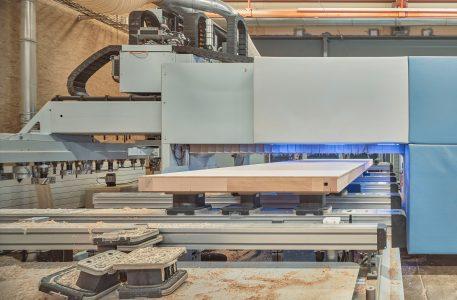 Innenansicht Produktion Schreinerei Bach Heiden, Heiden, Appenzell, Schweiz
