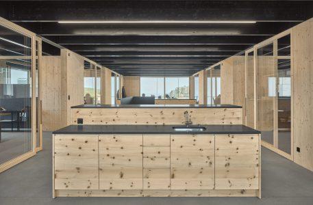Innenaufnahme Büro Schreinerei Bach Heiden, Heiden, Appenzell, Schweiz