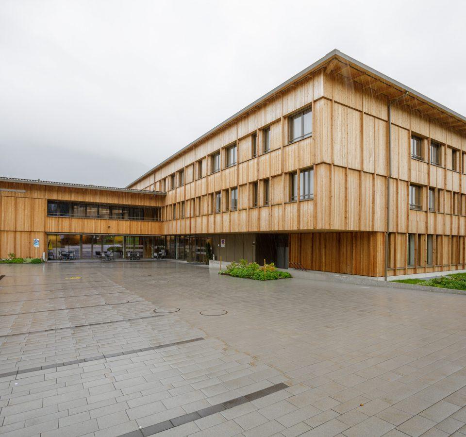 Aussenansicht Lichtensteinische Alters- und Krankenhilfe (LAK), Mauren