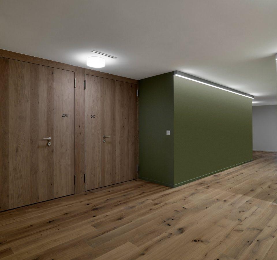 Innenansicht Betreuungszentrum Risi, Schwellbrunn