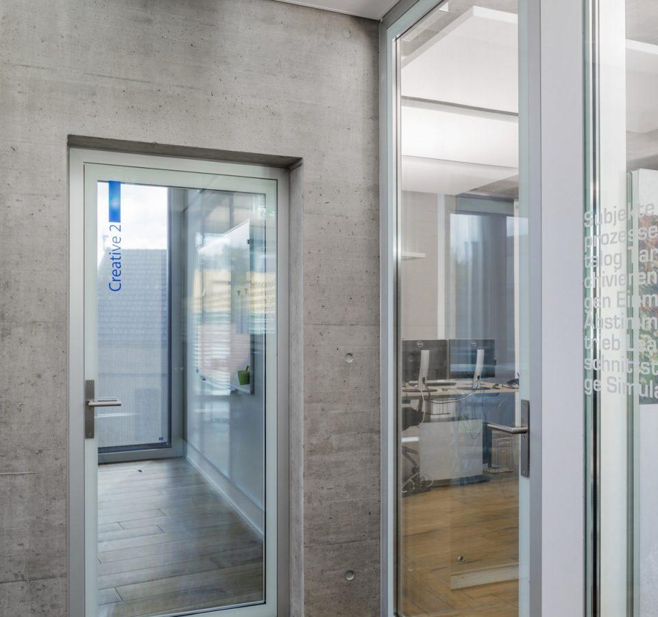 Innenansicht Innova AG, St. Gallen, mit Deltastar