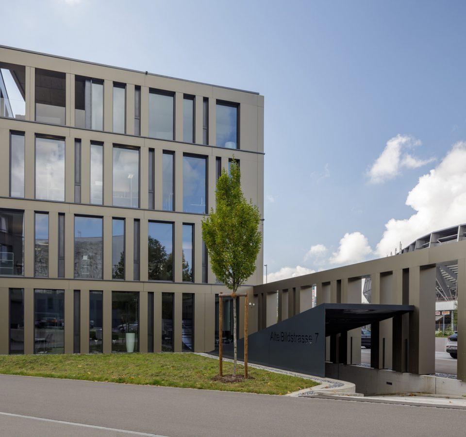 Aussenansicht Innova AG, St. Gallen