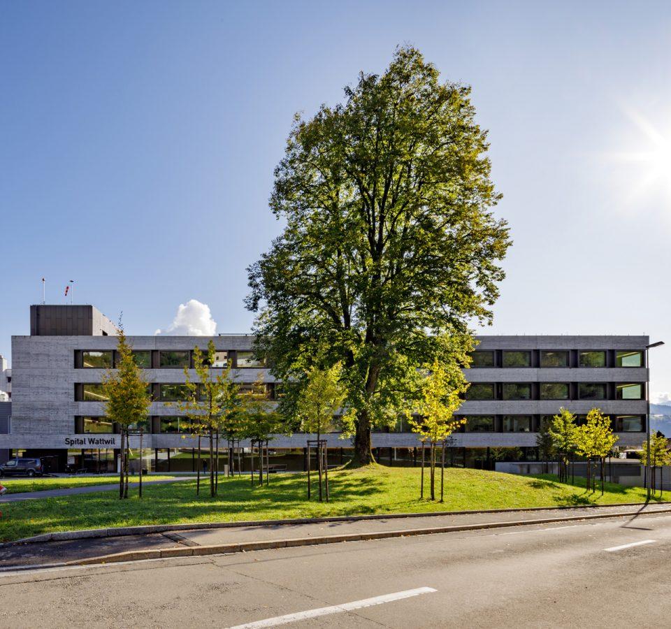 Aussenansicht Spital Wattwil
