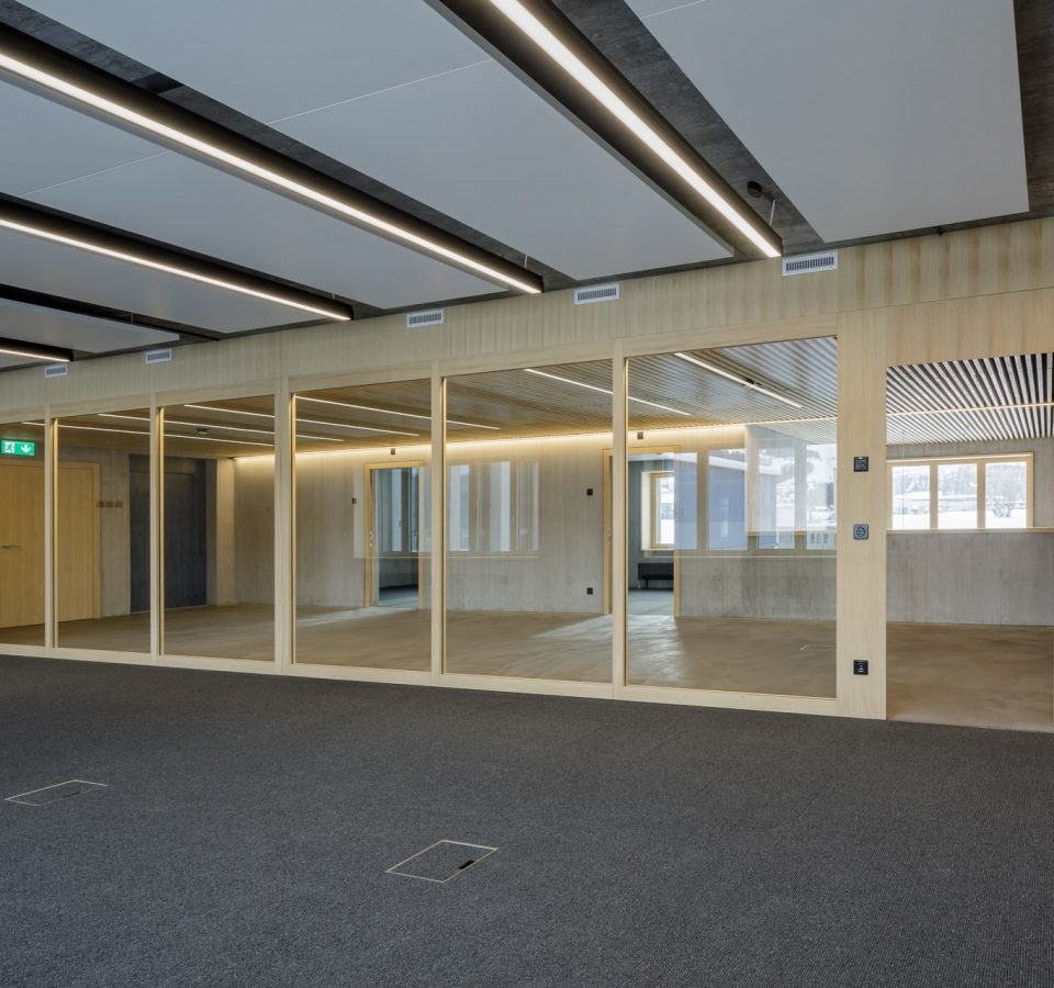 Geschäftshaus Westoffice, St. Gallen, Brandschutztüren von Bach Heiden. RPG Management GmbH. RLC Architekten AG.
