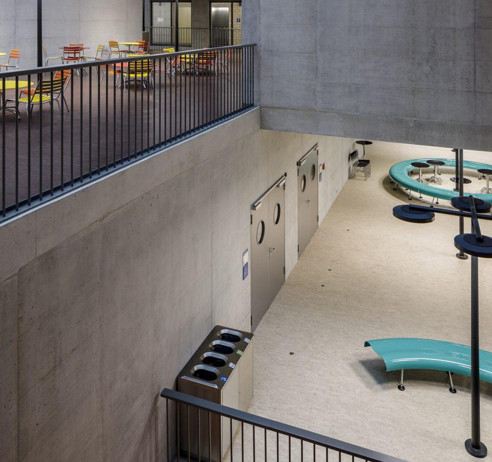 ZHAW Winterthur, Gesundheitsdepartement, Haus Adeline Favre, Pool Architekten