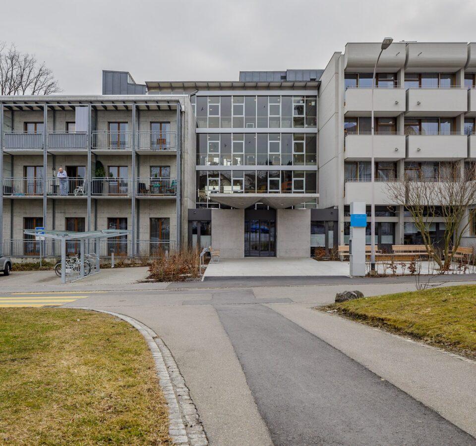 Altersheim Fahr, St. Margrethen, Türen von Bach Heiden